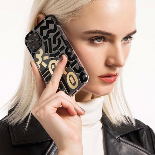iPhone 12/Pro/Max 系列 Sigema x Vanessa Teodoro 磨砂雙層 [三色]