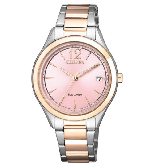CITIZEN 星辰 Eco-Drive FE6126-80X 光動能 女裝手錶