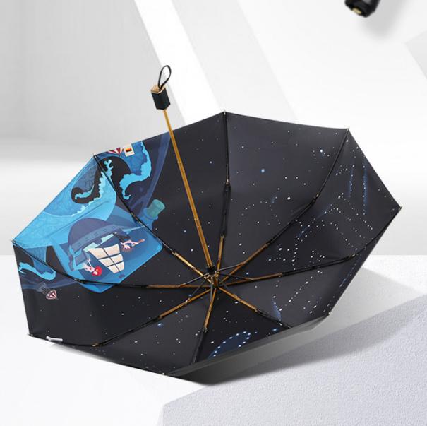 Boy BY3045 夢境 三折防紫外線摺疊雨傘 [2款]