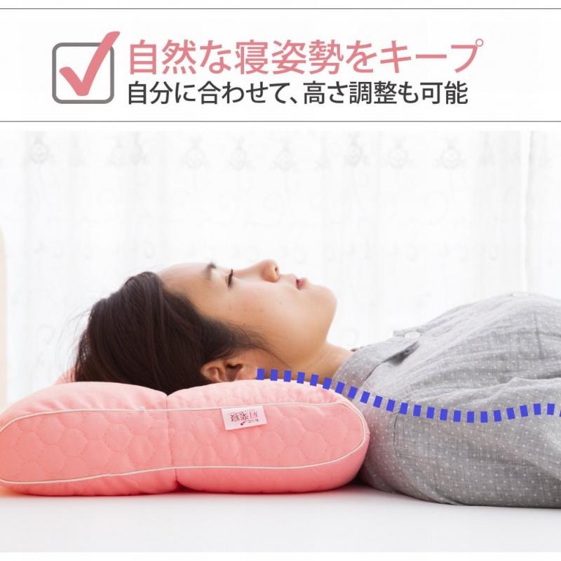 日本医師がすすめる健康枕 もっと肩楽寝 枕頭 睡枕 安睡枕