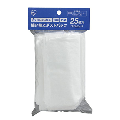 IRIS OHYAMA IC-SLDC1 超輕量兩用吸塵機塵袋補充裝(25pcs)