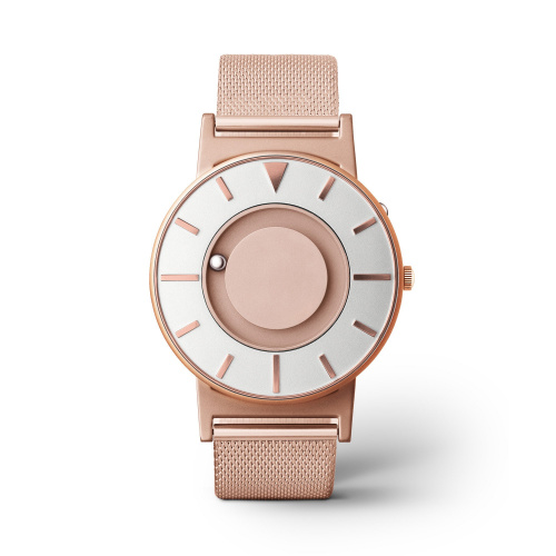 Eone Timepieces The Bradley Mesh Rose Gold 觸感腕錶 [玫瑰金]
