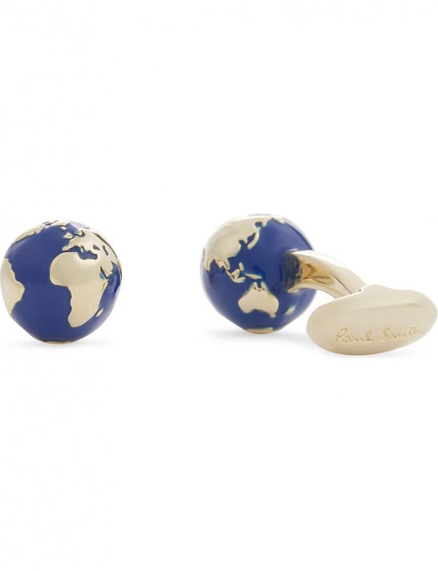 Paul Smith 金色地球袖口鈕扣