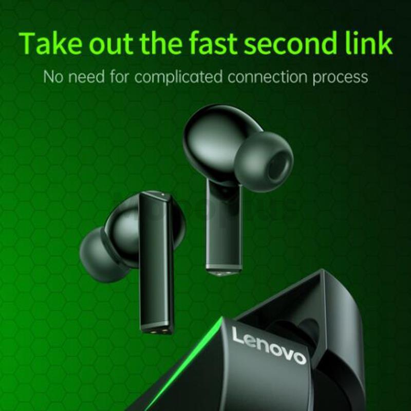 【超低延遲 勝利就在眼前】Lenovo GM1 Gaming TWS 真無線遊戲藍牙耳機