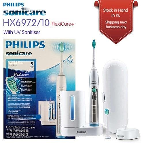 Philips 飛利浦 Sonicare FlexCare+ 充電式聲波震動牙刷 HX6972