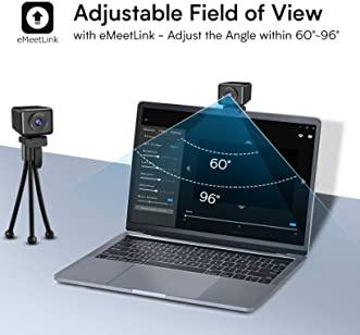 eMeet AI Focus All in one Jupiter Webcam 網絡攝像機