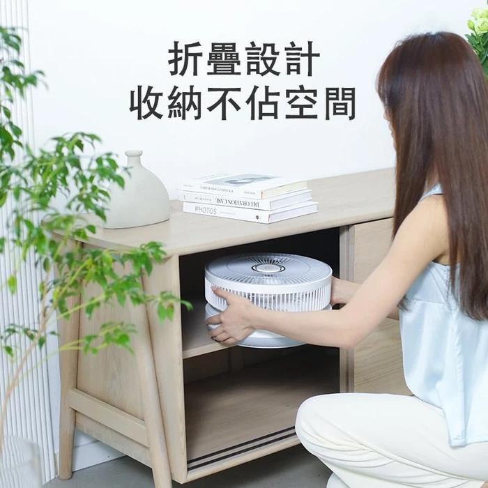 日本Yohome智能溫控折疊風扇(首批出貨日期: 5月中)
