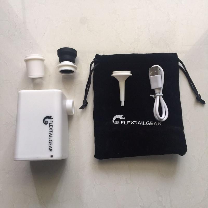 2019 Flextail 抽氣充氣兩用泵 [Max Pump Plus,Light Pump2] + 10個真空袋套裝 + 1個手泵