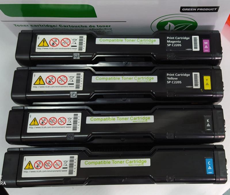 包郵 Ricoh 環保碳粉盒適用型號 Ricoh SPC220/SPC221/SPC222/SPC240