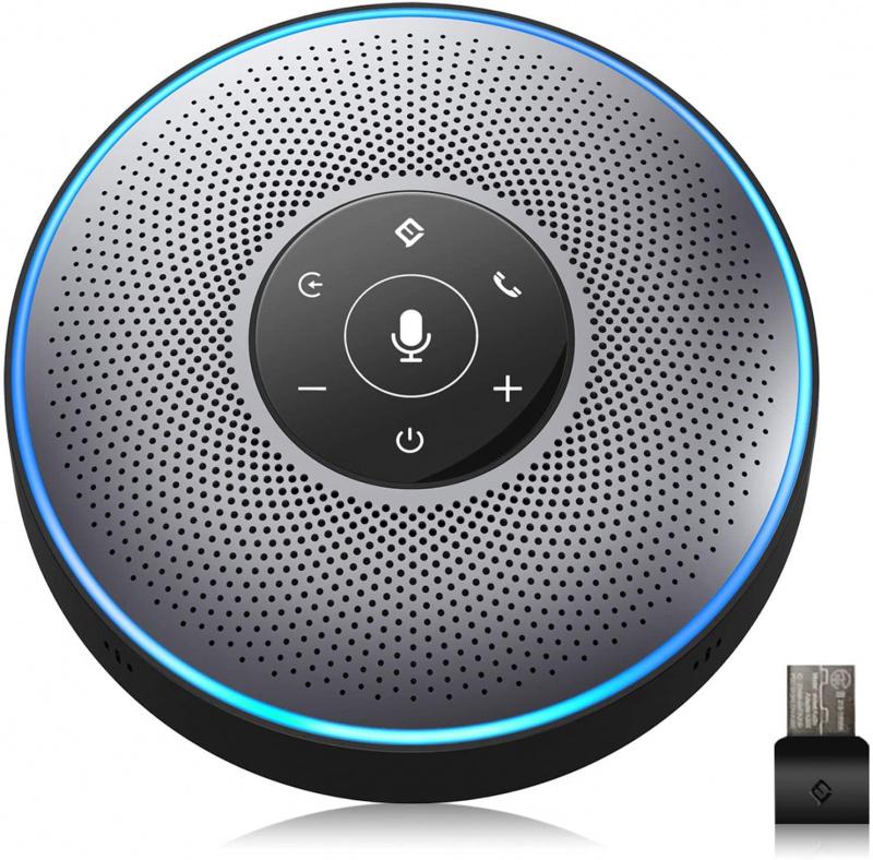 eMeet - Wireless Speakerphone OfficeCore M2 - EMM200GRYCN