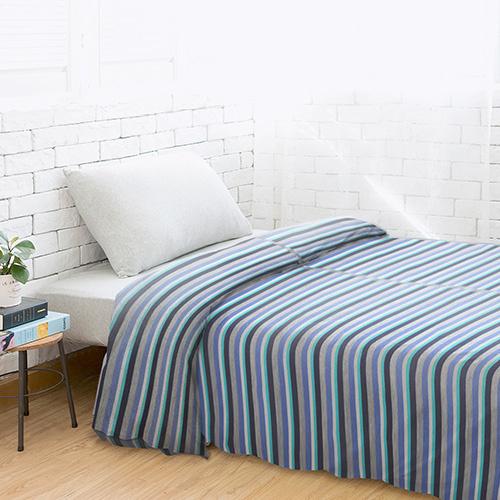 Dear 優綿生活全棉針織被袋 彩藍間 [3尺寸]