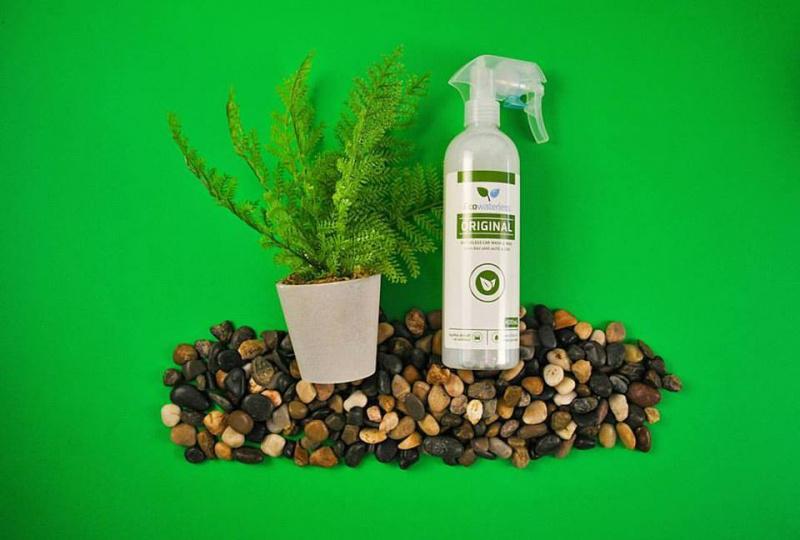 Ecowaterless Natural Car Cleaner 天然汽車免水打蠟清潔劑
