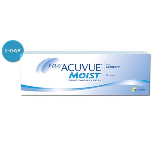 1 DAY ACUVUE MOIST 每日即棄隱形眼鏡 [多種度數]