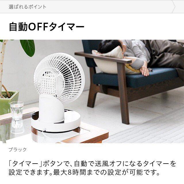 日本西哲 Sezze 360°旋轉左右 靜音循環風扇 (2020年新包裝)