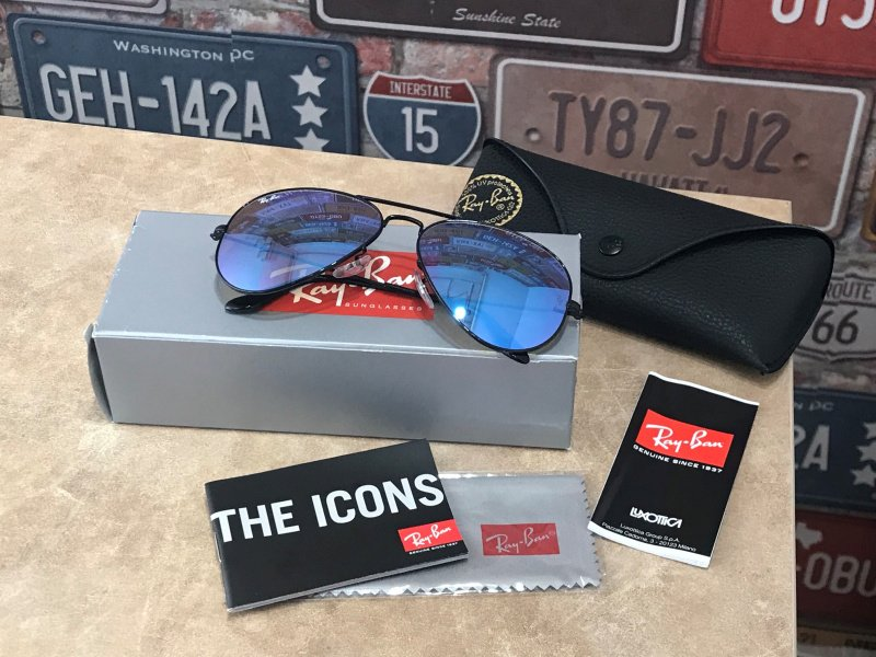 Ray-Ban RB3025 Aviator Flash Lenses Gradient-002/4O 太陽眼鏡