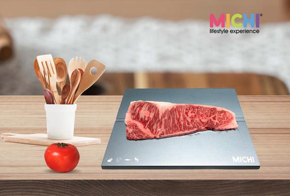 MICHI A4 piece-Unfreeze food 快速解凍板