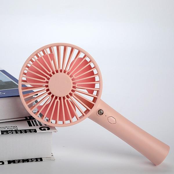 韓國B&C 便攜式手持風扇創意家用迷你小風扇 辦公室桌面usb化妝鏡電風扇