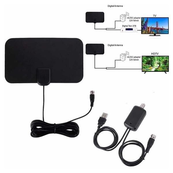韓國B&C HDTV室內數字電視天線地面波信號帶放大器 ATSC DTMB天線