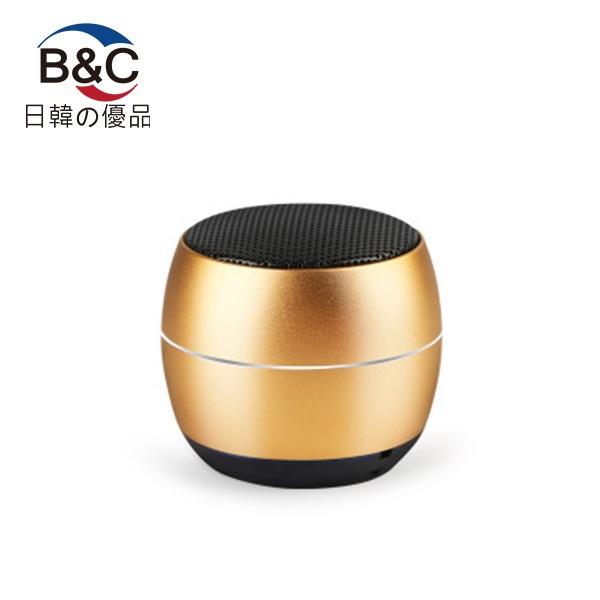 韓國B&C 戶外3D環繞立體音響迷你小型低音炮藍牙音箱便攜式插卡音箱