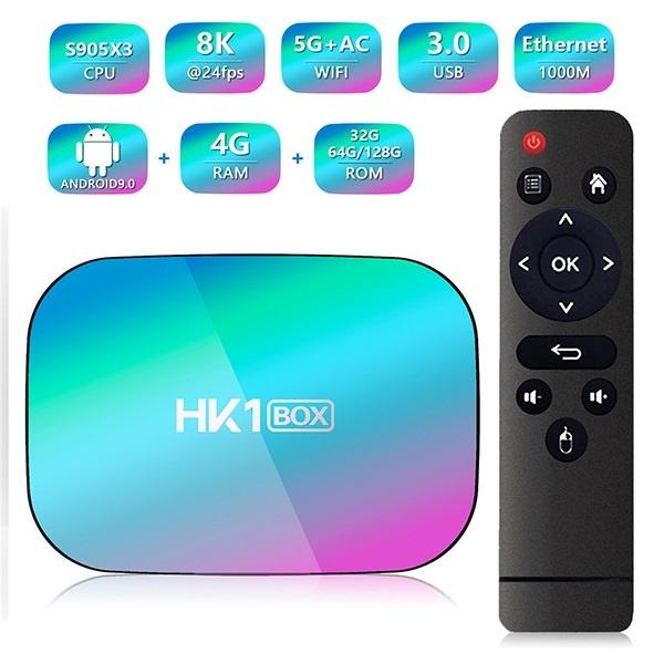 韓國B&C AC 5G WiFi網絡電視盒 TV BOX (4G+128G Rom) (全球衛星網絡直播版)