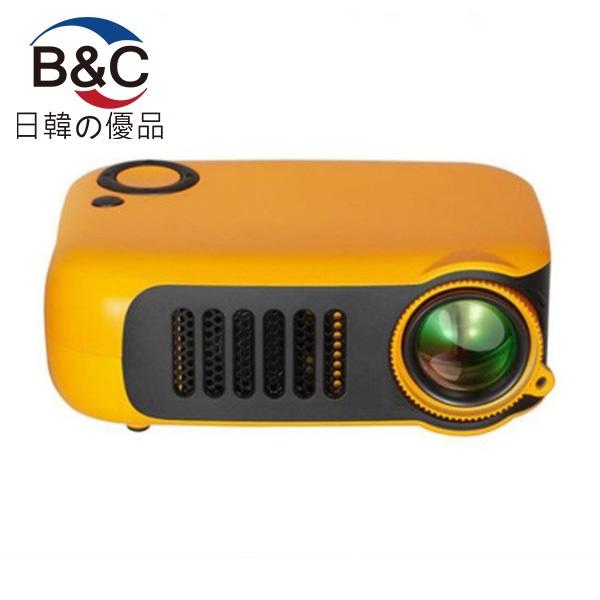 韓國B&C 高清多功能家用投影儀迷你便攜投影機