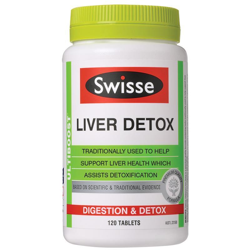 Swisse Liver Detox 解酒護肝片肝臟排毒片120粒