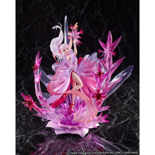 [預訂] eStream Re:從零開始的異世界生活 愛蜜莉雅 Freezing -Crystal Dress Ver- PVC Figure