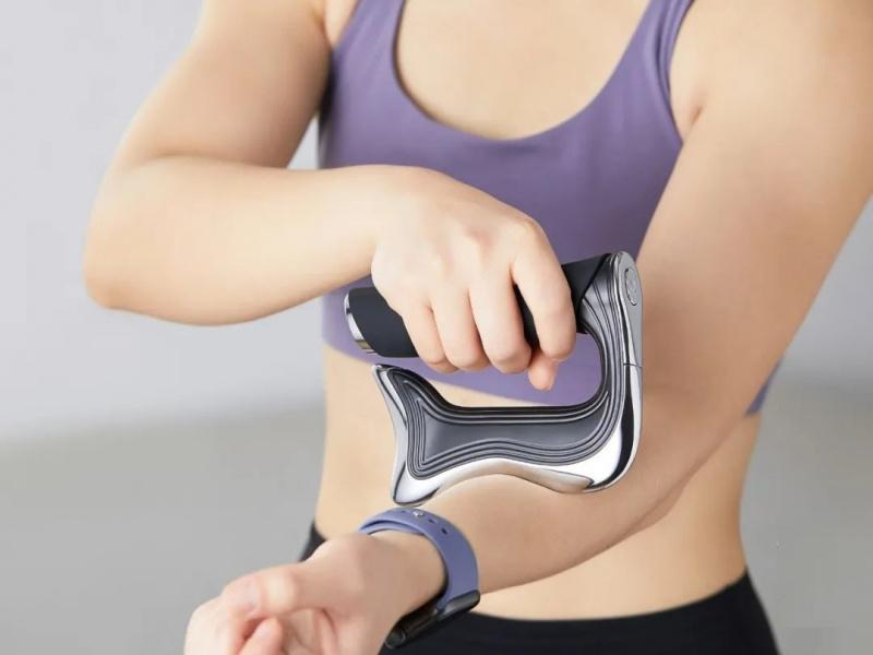 微電流曲面式按摩刀 消脂 減肚