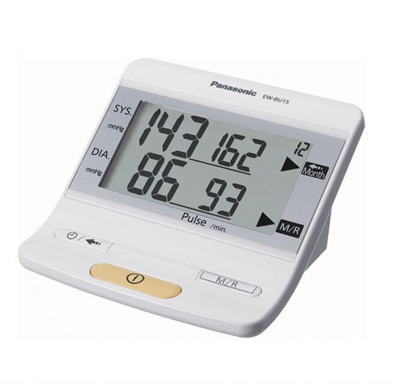 血壓計推薦 | Panasonic EW-BU15 手臂式電子血壓計