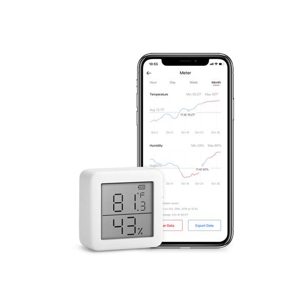 SwitchBot Meter Thermometer and Hygrometer 儀表溫度計和濕度計