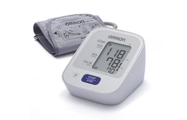 Omron HEM-7121 手臂式血壓計 (智能加壓,高血壓提示,記憶功能,干濕電2用)