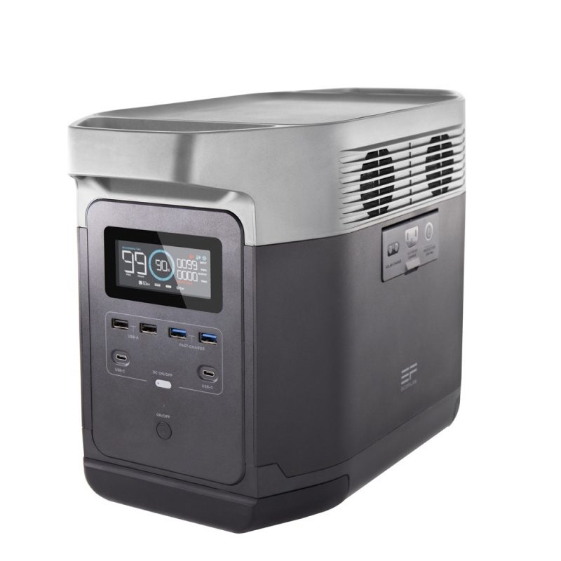 EcoFlow DELTA 1300(UK) 1,260Wh/350Ah 後備電源 (AC220V 1,800W) (85-04-1300)