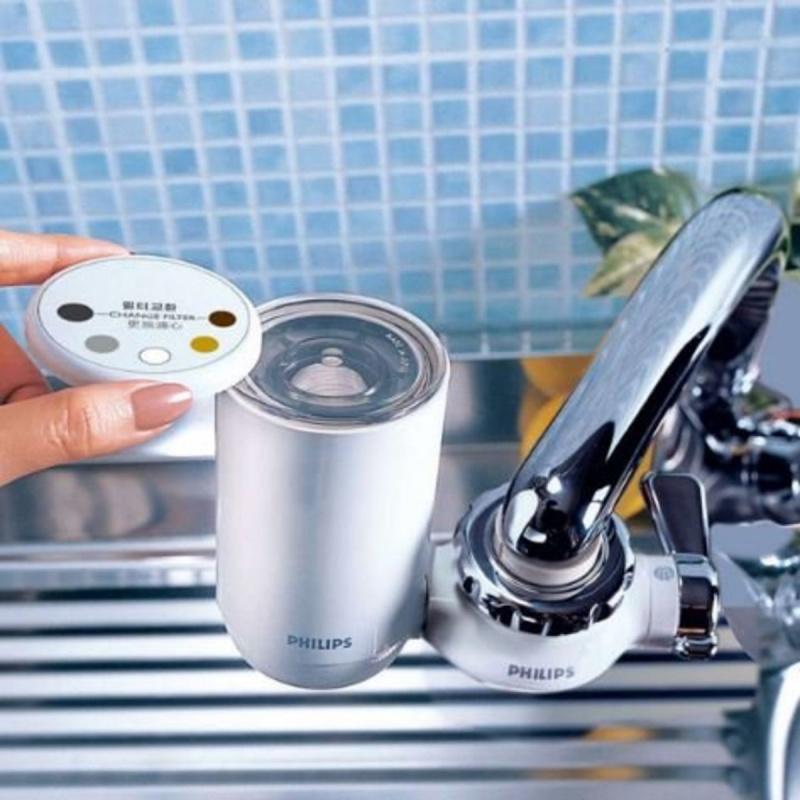 飛利浦 - 水龍頭濾水器WP3811 + 濾芯WP3911 4重過濾系統 優惠套裝 香港行貨 ( 沖涼洗澡, 花灑, 濾水器, 淨水 )