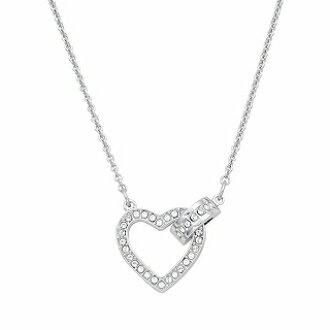 Swarovski - LOVELY 心形相扣項鍊 (5380703)