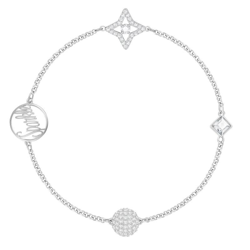 Swarovski - REMIX COLLECTION Star 閃耀星星隱形磁扣手鍊 (5365752)