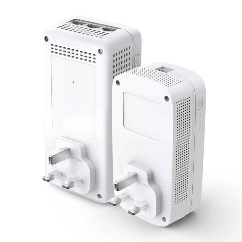 TP-Link AV1300 Gigabit Passthrough Powerline ac Wi-Fi Kit WPA8631P KIT[網絡器材] 【香港行貨】