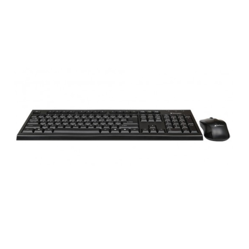 【香港行貨】Verbatim Wireless Keyboard & Mouse Combo #66519[鍵盤 滑鼠]