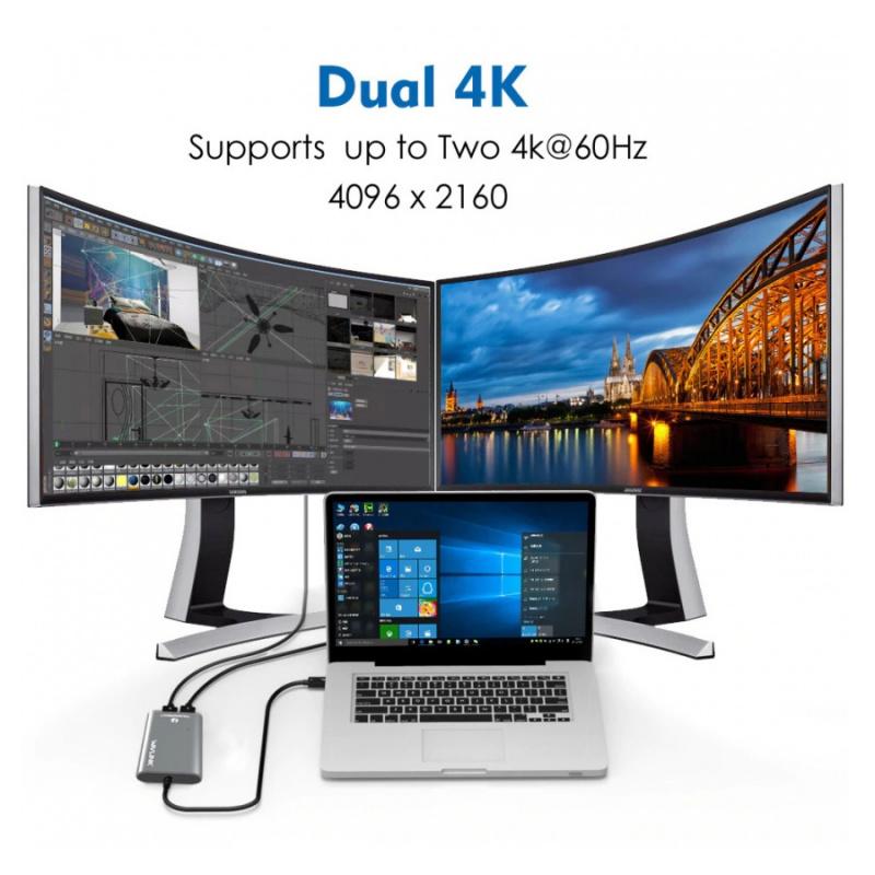 【香港行貨】WavLink Thunderbolt 3 to 8K@30Hz DisplayPort Adapter WL-UTA21D[Mac專用配件]