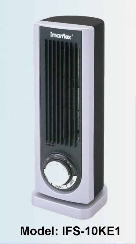 Imarflex 伊瑪牌 IFS-10KE1 藍光 電子式迷你直立扇