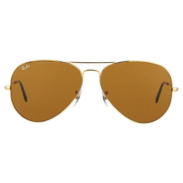 Ray-Ban RB3025 Aviator Classic 經典啡色B-15鏡片太陽眼鏡 | 001/33 金色鏡框