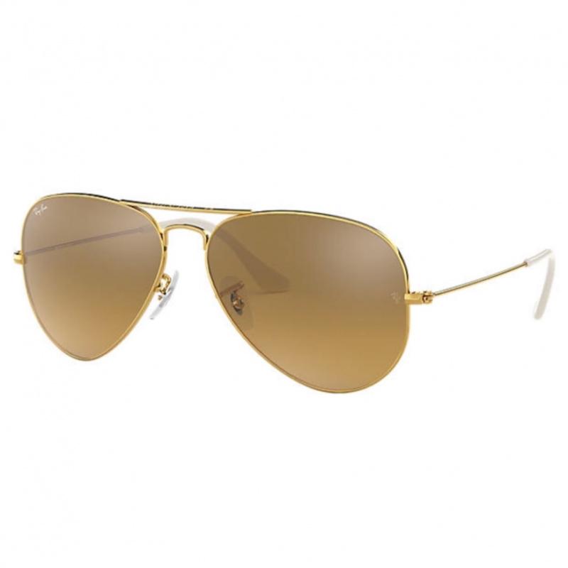 Ray-Ban RB3025 Aviator Gradient 淺啡色鏡片太陽眼鏡 | 001/3K 金色鏡框
