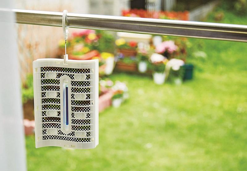 日本 虫よけバリア366日 天然ハーブの香り 驅蟲器2個裝