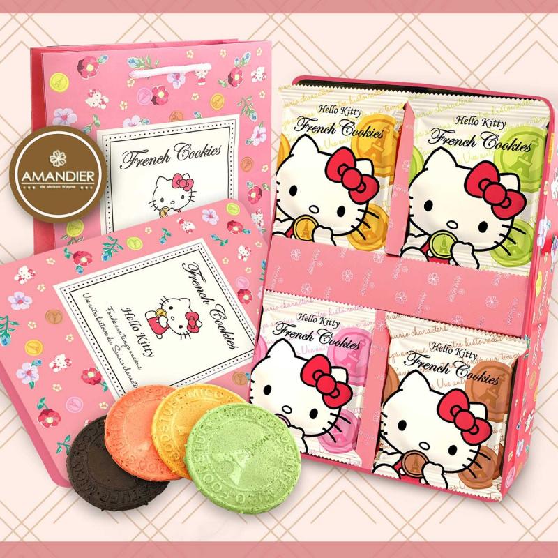 花花系列 -Hello Kitty 法蘭酥禮盒(附提袋)