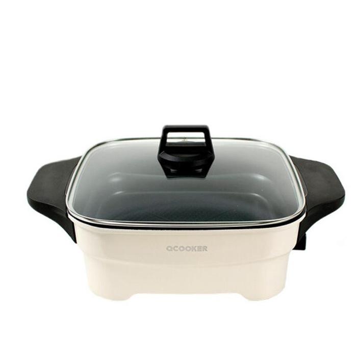 Ocooker 圈廚多功能家用電煮鍋 4L CR-HG02 - 電炒鍋 電熱鍋 煎鍋 電火鍋 一體多用途