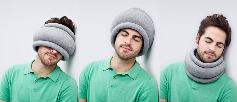 OSTRICHPILLOW® Light Travel Pillow 旅行頸枕 [4色]