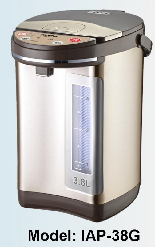 IMARFLEX 伊瑪牌『元氣‧金』3.8公升微電腦電熱水瓶 (IAP-38G)