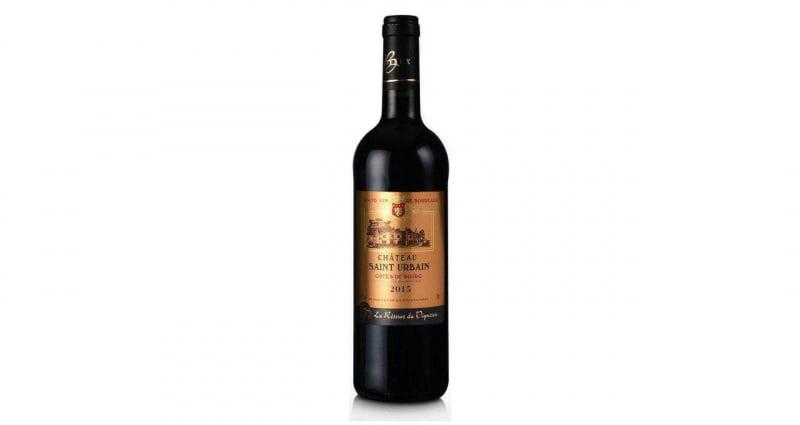 法國波爾多 聖邱爾本庒園 2015年 特級紅酒 ( 四枝装, 免運費 )