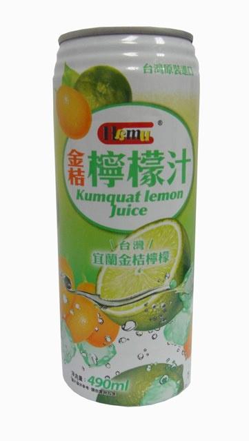 AJI338 Hamu 金桔檸檬汁飲料 490ml