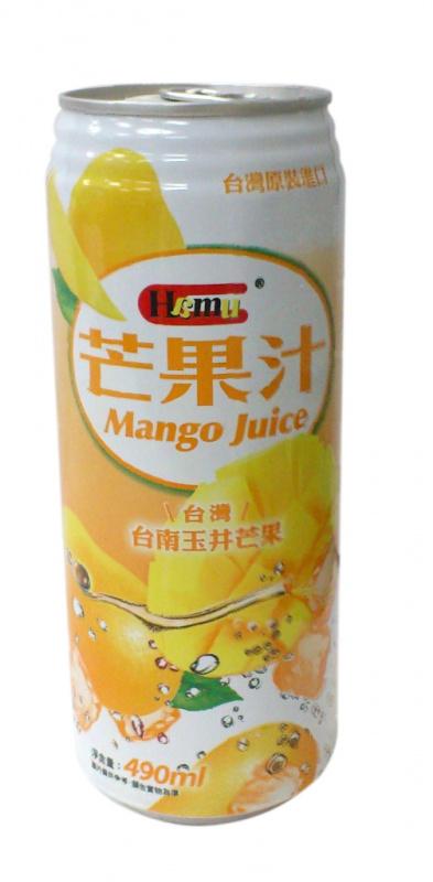 AJI339 Hamu 芒果汁飲料 490ml