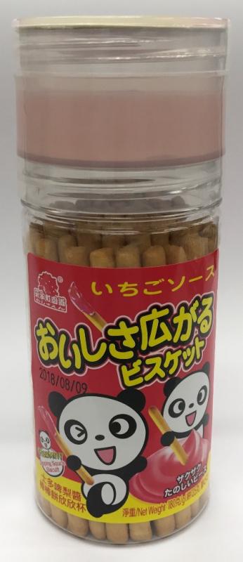 AJI488 菓子町士多啤梨醬棒棒餅欣欣杯 135g + 45g